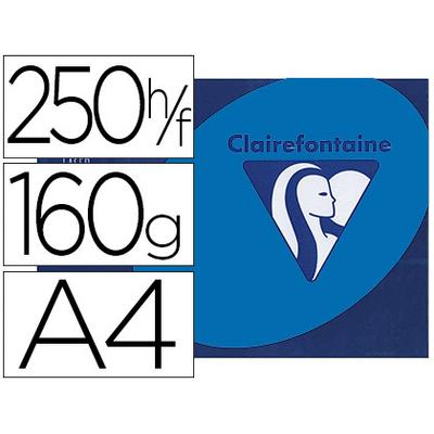 CLAIREFONTAINE TROPHÉE BLEU TURQUOISE A4 160G