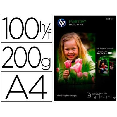 BRILLANT SEMI-GLACÉ HP EVERYDAY A4 200G