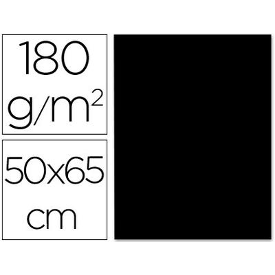 CARTONNÉ 50X65CM 180G NOIR