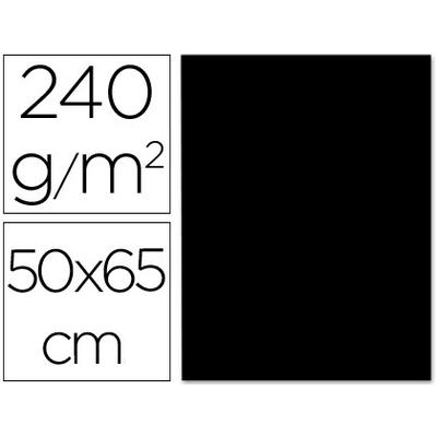 CARTONNÉ 50X65CM 240G NOIR