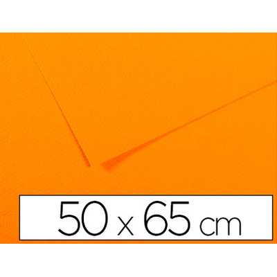 MI-TEINTES 50X65CM 160G JAUNE SOLEIL N°553