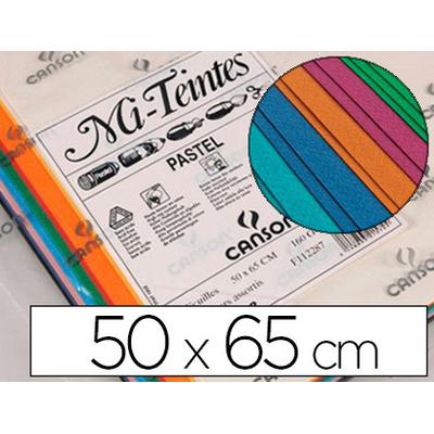 MI-TEINTES 50X65CM 160G ASSORTIES PACK DE 50