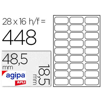 ÉTIQUETTES EN ÉTUI A5 48.5X30MM