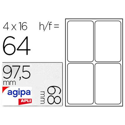 ÉTIQUETTES EN ÉTUI A5 97.5X68MM