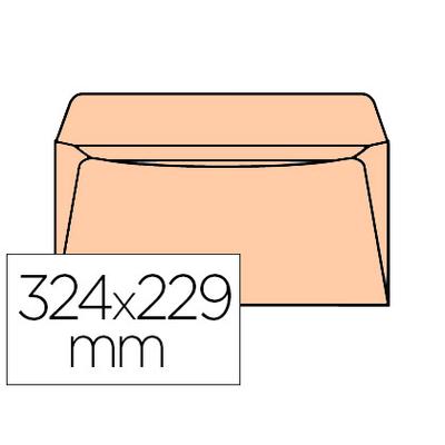 ENVELOPPES ADMINISTRATIVES 229X324MM BULLES