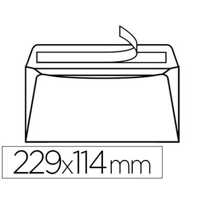 ENVELOPPES MULTI MACHINES 114X229MM
