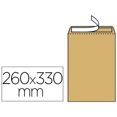 250 POCHETTES KRAFT AUTOCOLLANTE 24