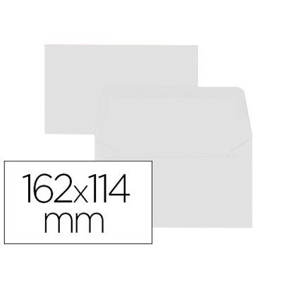 ENVELOPPES 114X162MM BLANC