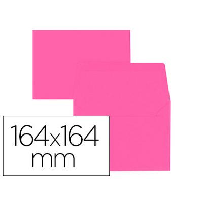 ENVELOPPES 164X164MM ROSE