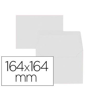 ENVELOPPES 164X164MM BLANC