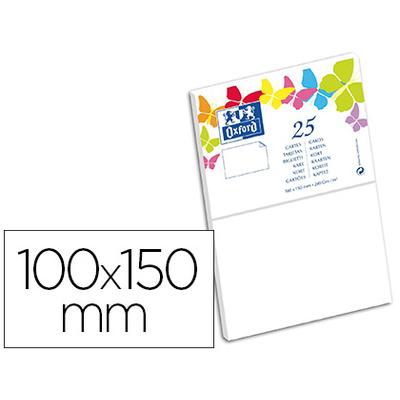 CARTES 100X150MM BLANC