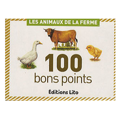 BONS POINTS ANIMAUX DE LA FERME