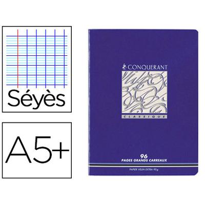 PIQUÉ CLASSIQUE 17X22CM 96 PAGES SÉYÈS