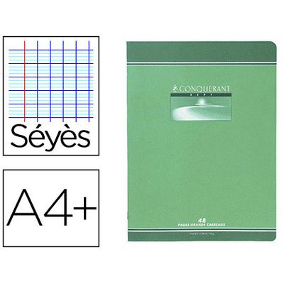 PIQUÉ CONQUERANT SEPT 24X32CM 96 PAGES SÉYÈS