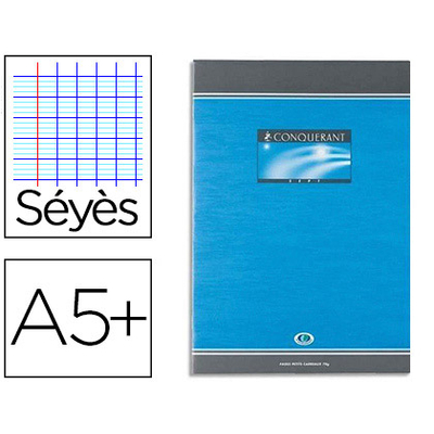 CAHIER DE DEVOIRS 17X22CM SÉYÈS 48 PAGES