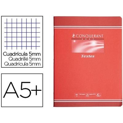 CAHIER DE TEXTE PIQUÉ 17X22CM 124 PAGES PETITS CARREAUX