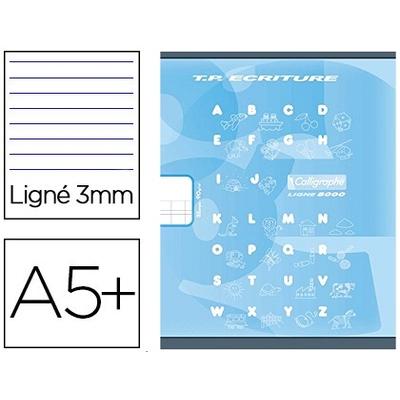 PIQUÉ 17X22CM 16 PAGES DOUBLE LIGNE 3MM + 16 UNIES