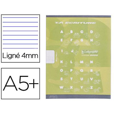 PIQUÉ 17X22CM 16 PAGES DOUBLE LIGNE 4MM + 16 UNIES