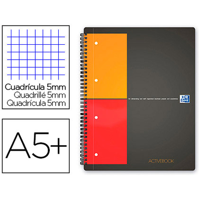 NOTEBOOK B5 160 PAGES PETITS CARREAUX