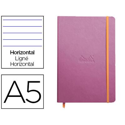 WEBNOTEBOOK A5 192 PAGES LIGNÉES LILAS