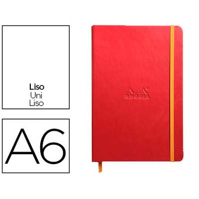 WEBNOTEBOOK A6 192 PAGES UNIES COQUELICOT