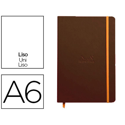 WEBNOTEBOOK A6 192 PAGES UNIES TAUPE