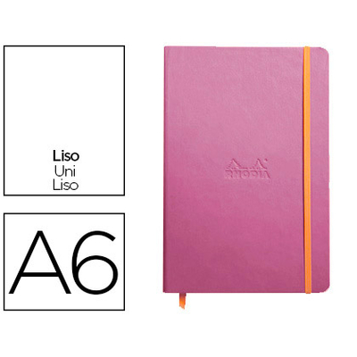 WEBNOTEBOOK A6 192 PAGES UNIES LILAS