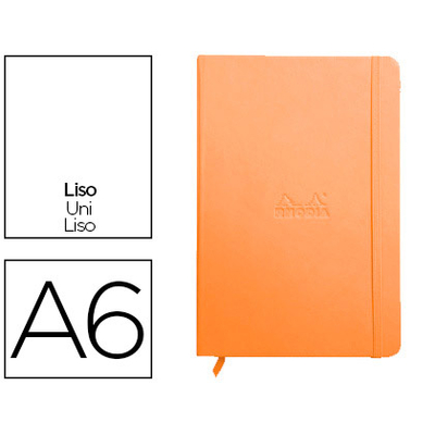 WEBNOTEBOOK A6 192 PAGES UNIES TANGERINE
