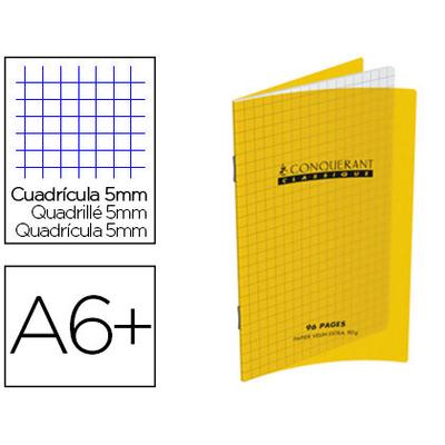 CLASSIQUE 90X140MM 96 PAGES JAUNE
