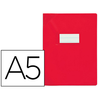 STRONG LINE PVC 17x22CM ROUGE OPAQUE