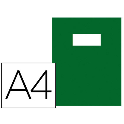 GREEN LINE PVC 21x29.7CM VERT FONCÉ