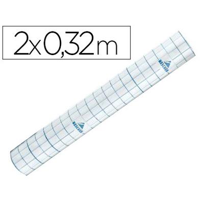 ROULEAU ADHÉSIF TRANSPARENT 0.32X2M