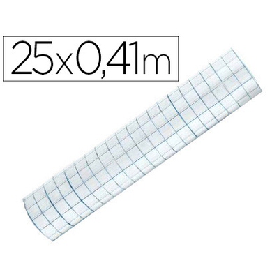 FILM PVC BRILLANT REPOSITIONNABLE 0.41X25M