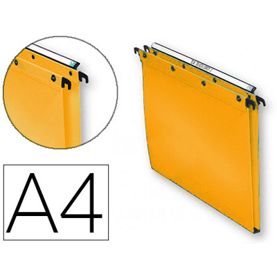 POLYPRO ULTIMATE JAUNE ORANGÉ FOND 15MM X10