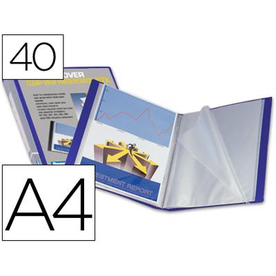 KANGOUROU PERSONNALISABLE A4 80 VUES BLEU