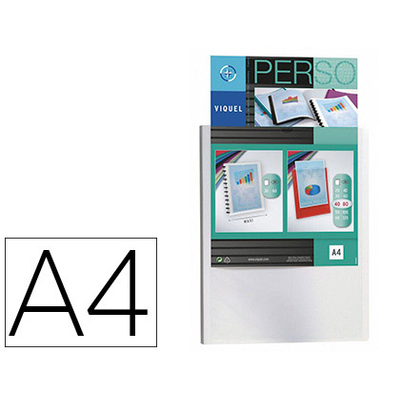 COVER PERSONNALISABLE A4 160 VUES BLANC