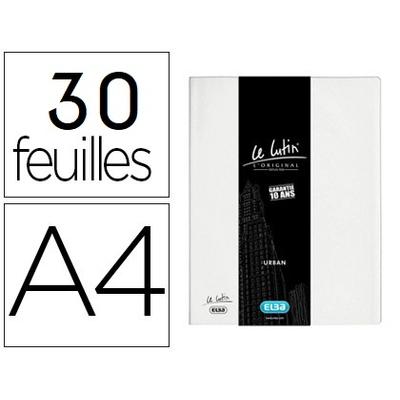 LUTIN CLASSIQUE A4 60 VUES BLANC