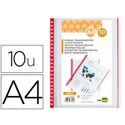 RECHARGE DE 10 POCHETTES A4 POUR 936124