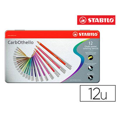 CARBOTHELLO BOITE MÉTAL DE 12