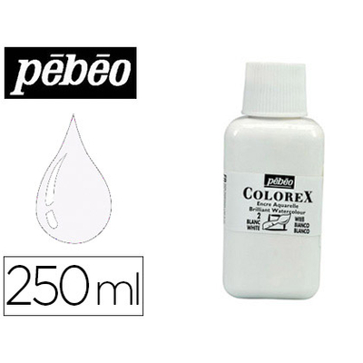 ENCRE COLOREX 250ML BLANC