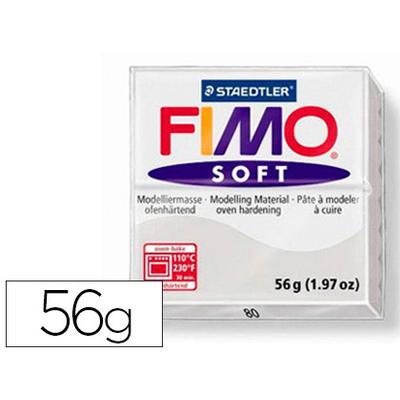 FIMO SOFT 56G GRIS FONCÉ