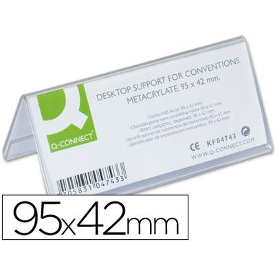 CHEVALET PORTE-NOM 95X42MM