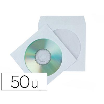 POCHETTE POUR CD/DVD PACK DE 50