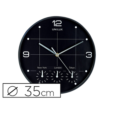 HORLOGE ON TIME Ø35CM