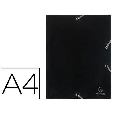 CHEMISE A4+ 3 RABATS NOIR