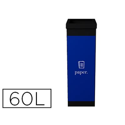 POUBELLE 60L TRI SÉLECTIF PAPIER