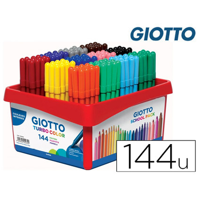 TURBO COLOR SCHOOLPACK DE 144