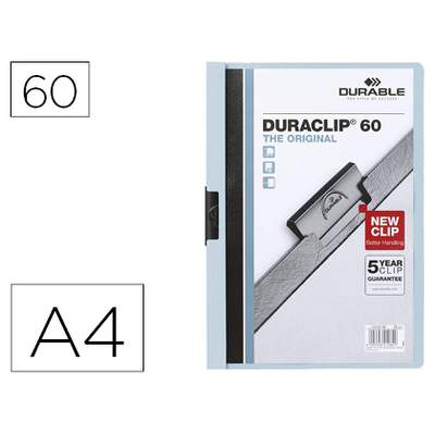 THE ORIGINAL DURACLIP 60 FEUILLES BLEU
