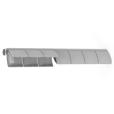 OPTION CHEMIN DE CÂBLES HORIZONTAL 120CM GRIS