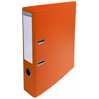 CLASSEUR PVC DOS 50MM ORANGE